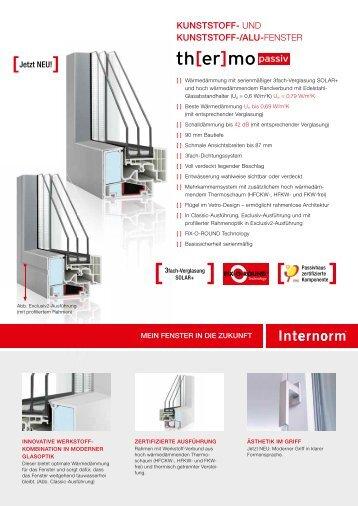 Passion pdf for Kunststoff alu fenster
