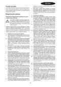BlackandDecker Trapano Senza Cavo- Hp146f4lbk - Type H3 - Instruction Manual (Czech) - Page 3
