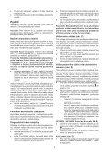 BlackandDecker Trapano Senza Cavo- Hp146f4lbk - Type H3 - Instruction Manual (Czech) - Page 6