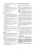 BlackandDecker Trapano Senza Cavo- Hp146f4lbk - Type H3 - Instruction Manual (Czech) - Page 7