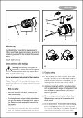 BlackandDecker Trapano Percussione- Kr1001 - Type 1 - Instruction Manual (Inglese - Arabo) - Page 3