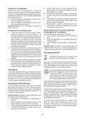 BlackandDecker Trapano Percussione- Kr1001 - Type 1 - Instruction Manual (Ungheria) - Page 6