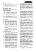 BlackandDecker Trapano Percussione- Kr1001 - Type 1 - Instruction Manual (Slovacco) - Page 3