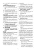 BlackandDecker Trapano Senza Cavo- Epc148 - Type H1 - Instruction Manual (Slovacco) - Page 7