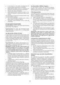 BlackandDecker Trapano Senza Cavo- Hp148f4lbk - Type H3 - Instruction Manual (Ungheria) - Page 6