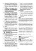 BlackandDecker Trapano Percussione- Cd714cres - Type 1 - Instruction Manual (Ungheria) - Page 5