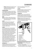 BlackandDecker Trapano Percussione- Kd661 - Type 1 - Instruction Manual - Page 5