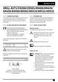 BlackandDecker Trapano Percussione- Cd200 - Type 1 - Instruction Manual (Inglese) - Page 5