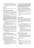 BlackandDecker Trapano Senza Cavo- Epl14 - Type H1 - Instruction Manual (Turco) - Page 6
