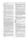 BlackandDecker Trapano Senza Cavo- Hp186f4bk - Type H1 - Instruction Manual (Ungheria) - Page 5