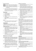 BlackandDecker Trapano Percussione- Kr504re - Type 2 - Instruction Manual (Romania) - Page 6