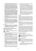 BlackandDecker Trapano Percussione- Kr753 - Type 1 - Instruction Manual (Ungheria) - Page 4