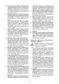 BlackandDecker Trapano Percussione- Cd714cres - Type 1 - Instruction Manual (Polonia) - Page 5