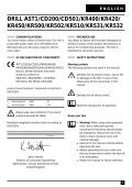 BlackandDecker Trapano Percussione- Kr510xc - Type 2 - Instruction Manual (Europeo) - Page 5