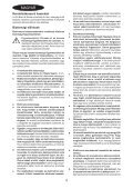 BlackandDecker Trapano Percussione- Kr504cre - Type 1 - Instruction Manual (Ungheria) - Page 4