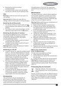 BlackandDecker Trapano- Kr705 - Type 1 - Instruction Manual (Europeo Orientale) - Page 7