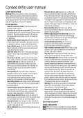 BlackandDecker Trapano- Kd353 - Type 1 - Instruction Manual - Page 4