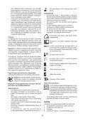 BlackandDecker Trapano Senza Cavo- Hp126f4bk - Type H1 - Instruction Manual (Ungheria) - Page 6