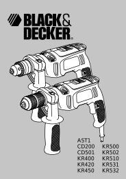 BlackandDecker Trapano- Ast1 - Type 3 - Instruction Manual (Europeo)
