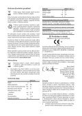 BlackandDecker Trapano Senza Cavo- Epl7i - Type H1 - Instruction Manual (Czech) - Page 7