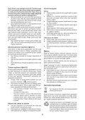 BlackandDecker Trapano Senza Cavo- Epl7i - Type H1 - Instruction Manual (Turco) - Page 6