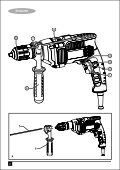 BlackandDecker Trapano- Kr705 - Type 1 - Instruction Manual (Inglese - Arabo) - Page 2