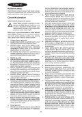 BlackandDecker Sabbiatrice Orbitale- Ka270k - Type 1 - Instruction Manual (Turco) - Page 6