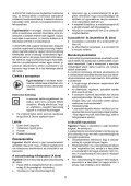 BlackandDecker Sabbiatric A Cinghia- Ka86 - Type 1 - Instruction Manual (Ungheria) - Page 5