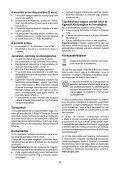 BlackandDecker Sabbiatric A Cinghia- Ka86 - Type 1 - Instruction Manual (Ungheria) - Page 6