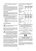 BlackandDecker Trapano Percussione- Cd714re - Type 1 - Instruction Manual (Ungheria) - Page 7