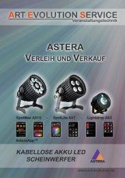 Astera Flyer - Blau