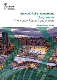 Network Rail's Investment Programme