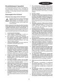 BlackandDecker Smerigliatrice- Ka161 - Type 1 - Instruction Manual (Ungheria) - Page 5