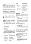 BlackandDecker Smerigliatrice- Ka161 - Type 1 - Instruction Manual (Ungheria) - Page 7