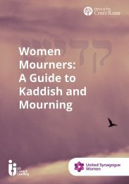 Women Mourners A Guide to Kaddish and Mourning