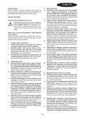 BlackandDecker Sabbiatrice Orbitale- Ka280 - Type 1 - Instruction Manual (Turco) - Page 5