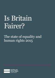 Is Britain Fairer?