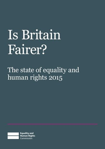 Is Britain Fairer?