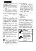 BlackandDecker Sabbiatrice Anatomic- Ka2500 - Type 1 - Instruction Manual (Lettonia) - Page 6