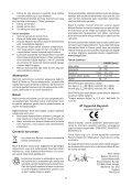 BlackandDecker Sabbiatric A Cinghia- Ka89e - Type 1 - Instruction Manual (Turco) - Page 7