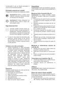 BlackandDecker Sabbiatrice Orbitale- Ka274ek(L) - Type 1 - Instruction Manual (Romania) - Page 6