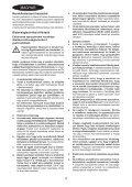 BlackandDecker Smerigliatrice Angolare Piccola- Kg751 - Type 1 - Instruction Manual (Ungheria) - Page 4
