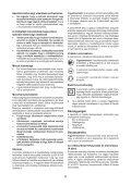 BlackandDecker Smerigliatrice Angolare Piccola- Kg751 - Type 1 - Instruction Manual (Ungheria) - Page 6