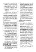 BlackandDecker Smerigliatrice Angolare Piccola- Kg751 - Type 1 - Instruction Manual (Polonia) - Page 6