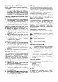 BlackandDecker Smerigliatrice Angolare Piccola- Kg751 - Type 1 - Instruction Manual (Polonia) - Page 7