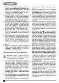 BlackandDecker Smerigliatrice Angolare Piccola- Cd110 - Type 4 - Instruction Manual (Europeo Orientale) - Page 6