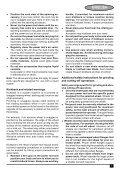 BlackandDecker Smerigliatrice Angolare Piccola- Cd110 - Type 4 - Instruction Manual (Europeo Orientale) - Page 7
