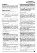BlackandDecker Smerigliatrice Angolare Piccola- Kg900 - Type 3 - Instruction Manual (Europeo Orientale) - Page 5