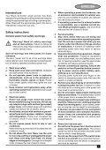 BlackandDecker Smerigliatrice Angolare Piccola- Cd115 - Type 4 - Instruction Manual (Europeo Orientale) - Page 5