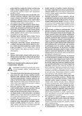 BlackandDecker Smerigliatrice Angol- Kg2205 - Type 1 - Instruction Manual (Czech) - Page 5